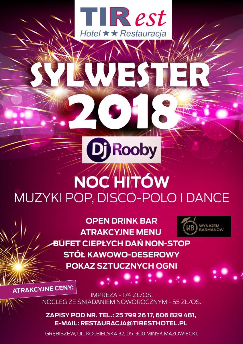 Sylwester 2017 Mińsk Mazowiecki
